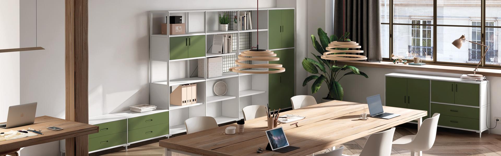 Nodum, modular cabinet system