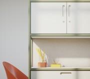 Sistema armario modular Nodum