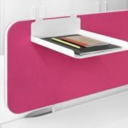 Los accesorios para el panel acústico Duo le permiten obtener un mayor rendimiento en su espacio de trabajo.