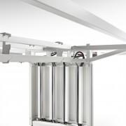 Adapta 2 Plus incorpora diferentes soluciones para la correcta gestión del cableado y electrificación de sus elementos.