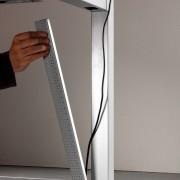 Las mesas disponen de diferentes soluciones de electrificación tanto horizontales como verticales.