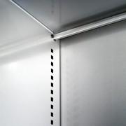 Los laterales interiores son completamente lisos para facilitar la colocación y extracción de objetos cómodamente y sin daños.