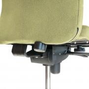 Sistema de refuerzo lumbar Schukra con ajuste mediante ruedecilla posterior respaldo