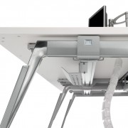 Columna vertebral para pasar cables