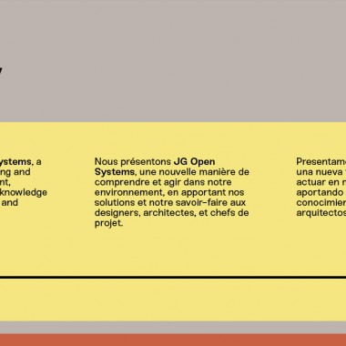 Orgatec 2018, JG Open Systems