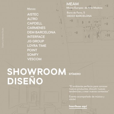 SHOWROOM DISEÑO 2018 Barcelona