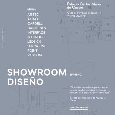 SHOWROOM DISEÑO 2018 Madrid