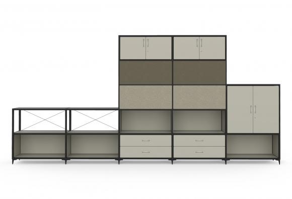 Nodum, sistema de armario modular